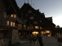 The Inn in the evening.